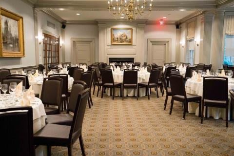 Harvard Faculty Club Main Dining Room